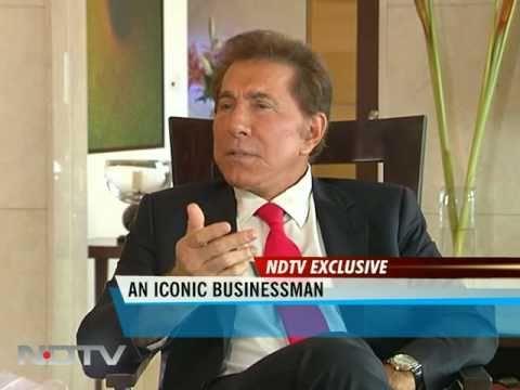 Casino czar Steve Wynn talks to NDTV