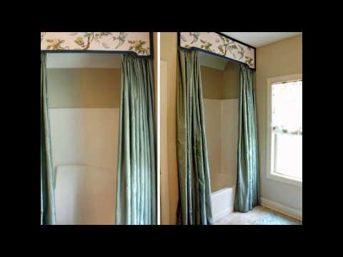 bathroom-decoration-ideas-using-shower-curtain-valance-