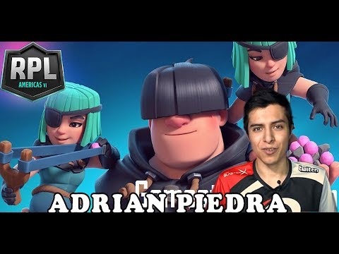 ADRIAN PIEDRA  RASCAL NEW BAIT DECK in Clash Royale