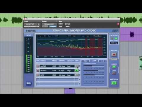Sonnox Fraunhofer Pro-Codec (Version 3)
