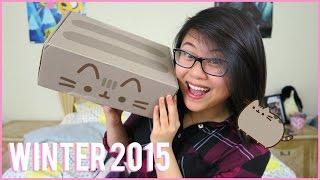 PUSHEEN BOX Winter 2015    Unboxing & Review!