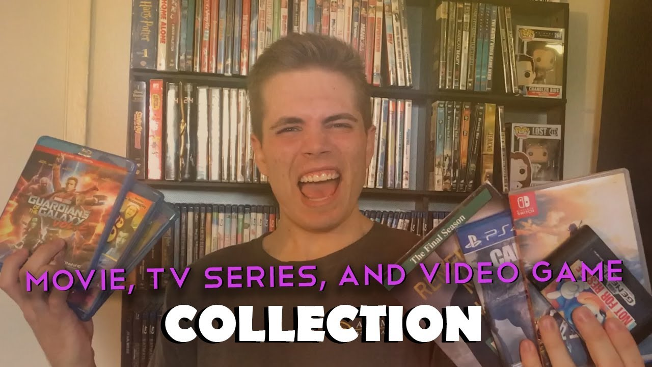 Download My MOVIE, TV SERIES and VIDEO GAME COLLECTION for 2018!