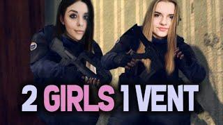 2 Girls 1 Vent  /w. Kalaejj