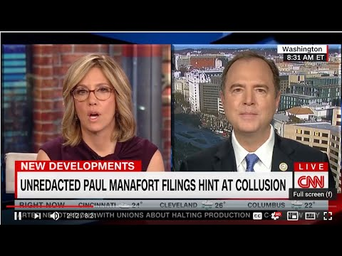 Rep. Schiff on CNN: Evidence of Collusion is Clear, Mueller Will Find Out if There's Been a Crime