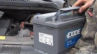 Замена автомобильного аккумулятора(, 2013-11-04T20:48:30.000Z)