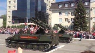 Парад победы , 9 мая , Луганск 2016 год(Парад победы , 9 мая , Луганск 2016 год , техника ., 2016-05-09T12:46:17.000Z)