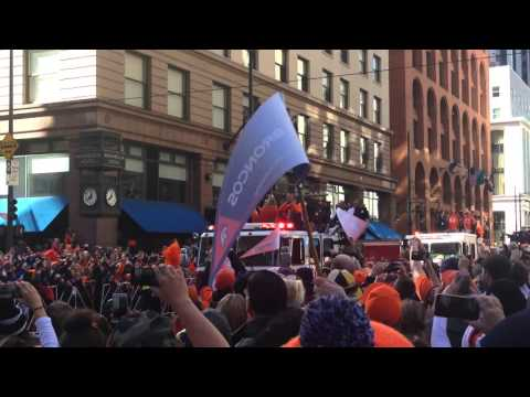 Superbowl Parade Denver Broncos