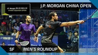 Squash: Men\'s Semi-Final Roundup - J.P. Morgan China Open 2017