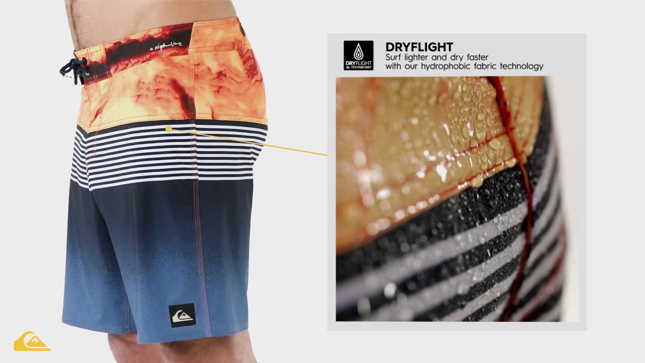 49121bf6f3 Quiksilver Highline Lava Division Boys Bathing Suit 2018