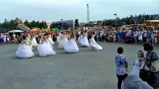 Флешмоб невест, Мегион 2017.