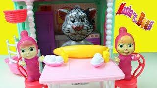 Maşaların Yeni Arkadaşı Tom Cat Neler Yapıyor Maşa Koca Ayı Yeni Bölüm Çizgi Film