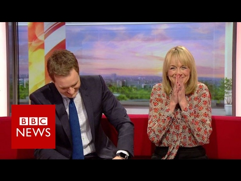 Making A Muppet Of A BBC Breakfast Reporter - BBC News