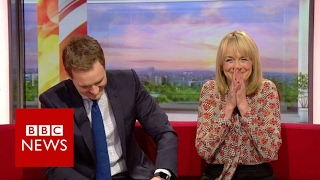 Making a muppet of a BBC Breakfast reporter   BBC News