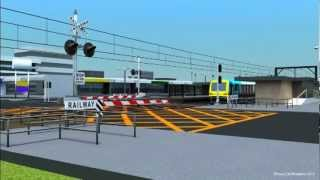 Railway Signalling in 3D - Xtrapolis Stops and Stays