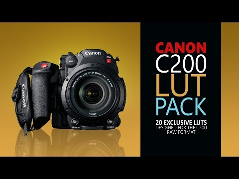 Canon C200 LUT Pack (20 Exclusive LUTs) Link Fixed