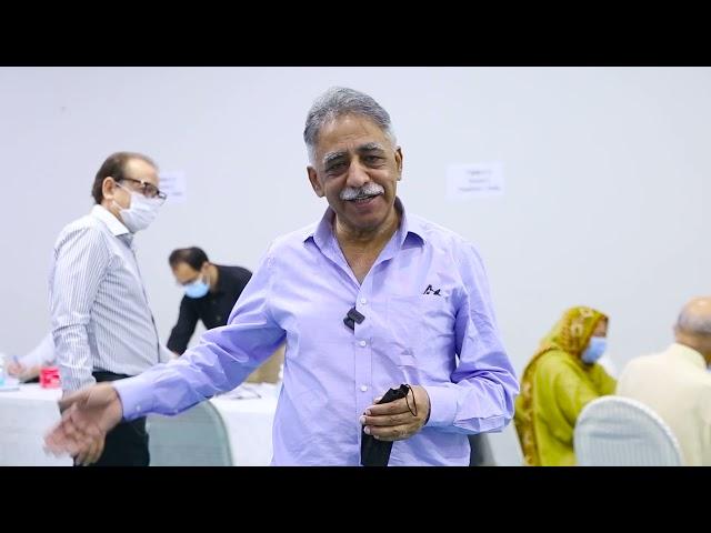 Mohammad Zubair Umar | Covid-19 Vaccination Centre | Arts Council Karachi #acpkhi #covid_19