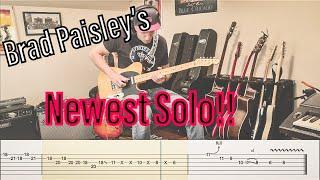 Brad Paisley Guitar Lesson Soloing With Triplets - مهرجانات