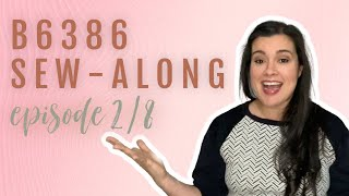 Winter Sew-Along  |  Butterick 6386 Windbreaker  |  Episode 2 of 8  |  Sewing the Front