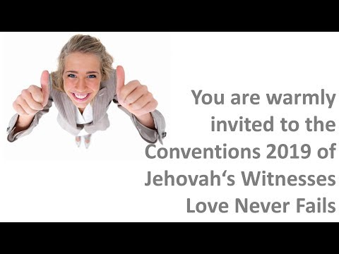 JW 2019 Convention Jehovah's Witnesses Love Never Fails - 24