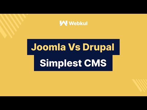 Joomla Vs Drupal : Which Is Simplest CMS, To Start Your