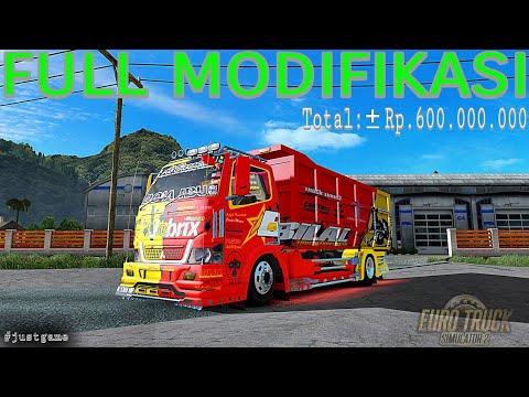 Rp 600 000 000 Habiskan Duit segitu untuk MODIFIKASI truck