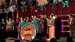 SIKYONG LOBSANG SANGAY ADDRESSES SFIS GRADUATION CEREMONY 2019 –  Tibetan National Anthem