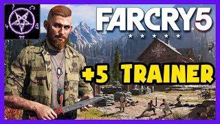 Far Cry 5 ► +5 Trainer - Infinite Ammo / Health / Gadgets / Money / Air