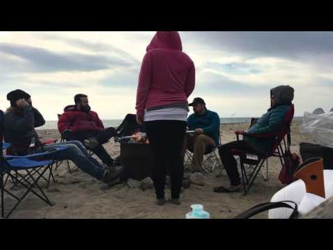 Beach Camping at Point Mugu