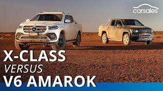 2019 Mercedes-Benz X 350 d v Volkswagen Amarok V6 Comparison | carsales