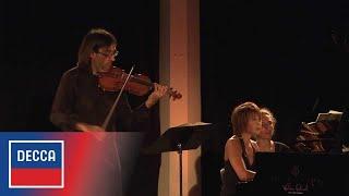 Leonidas Kavakos & Yuja Wang: Brahms Violin Sonata No. 3 - IV. Presto agitato (excerpt)