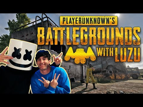 Playing PUBG With Luzu!!   Gaming with Marshmello