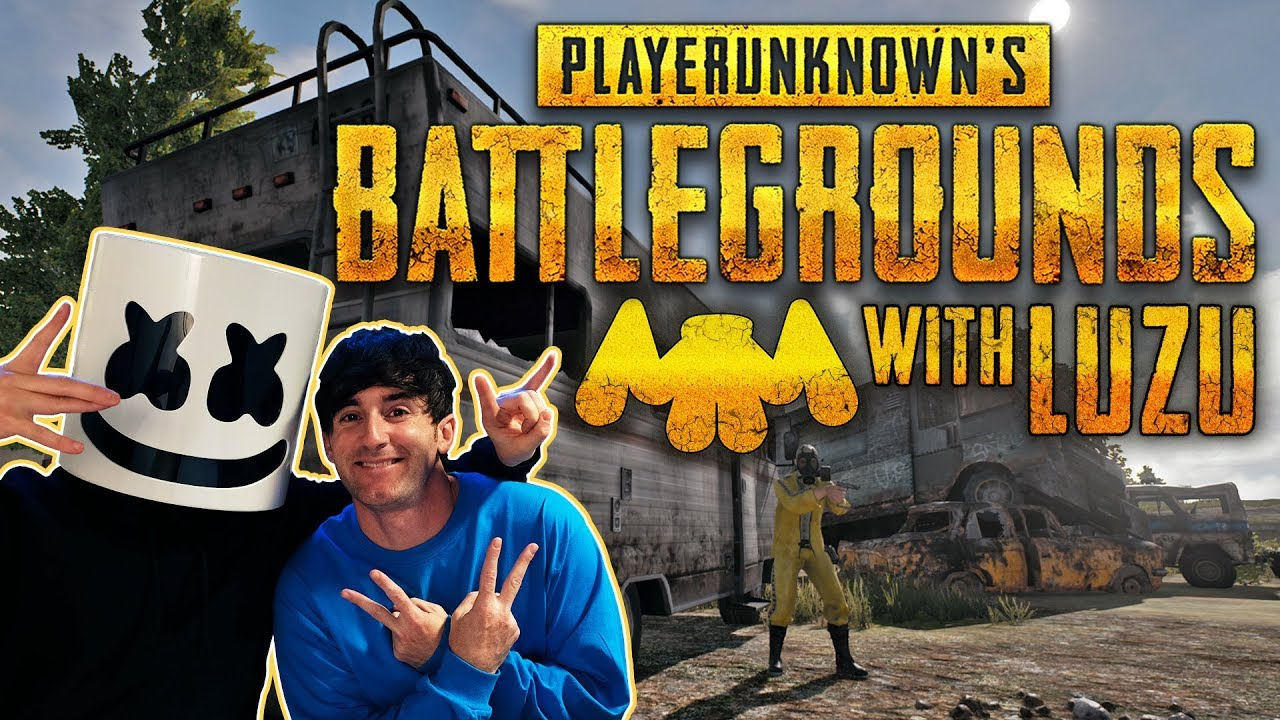 Playing PUBG With Luzu!! | Gaming with Marshmello