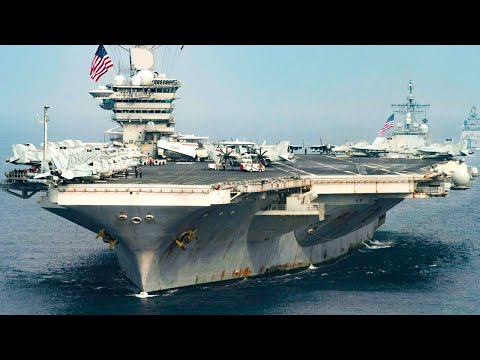 USS Theodore Roosevelt Aircraft Carrier Strike Group in the South China Sea