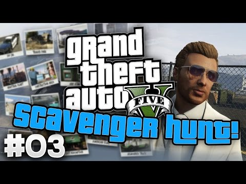 GTAV Online: Scavenger Hunt - #3 - Dukes of Hazzard!