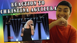 christina aguilera the thrill is gone
