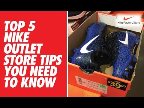 TOP 5 Nike Outlet Store Tips You NEED TO KNOW!