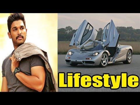 Allu Arjun Lifestyle, School, Girlfriend, House, Cars, Net Worth, Family, Biography 2018