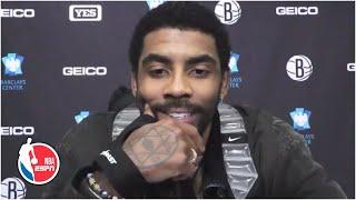 Kyrie Irving Talks Nets' Win Vs. Clippers | NBA On ESPN