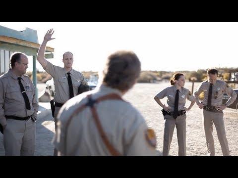 """Scene from RUBBER (2010) - """"Is it Black?"""""""