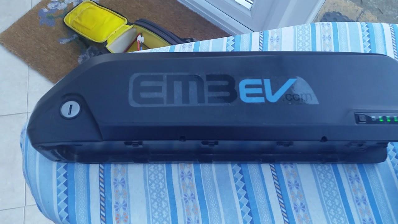 Em3ev 52 volt battery review for ebikes