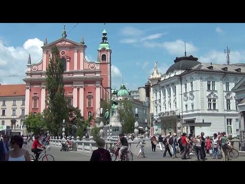 Center of Ljubljana, Slovenia