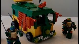 TMNT Party Wagon in Lego by BWTMT Brickworks