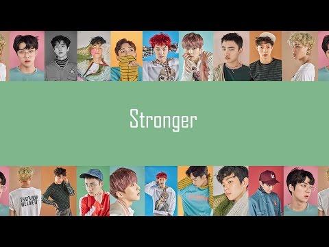 EXO - Stronger (EASY Lyrics)