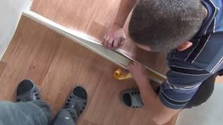 видео Как склеить стыки и швы линолеума