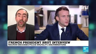 France's Macron aiming to win over youth voters with Brut interview