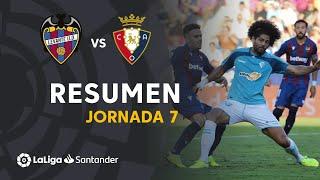 Resumen de Levante UD vs CA Osasuna (1-1)