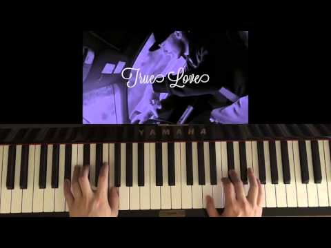 How To Play - Ariana Grande - True Love (Piano Tutorial)