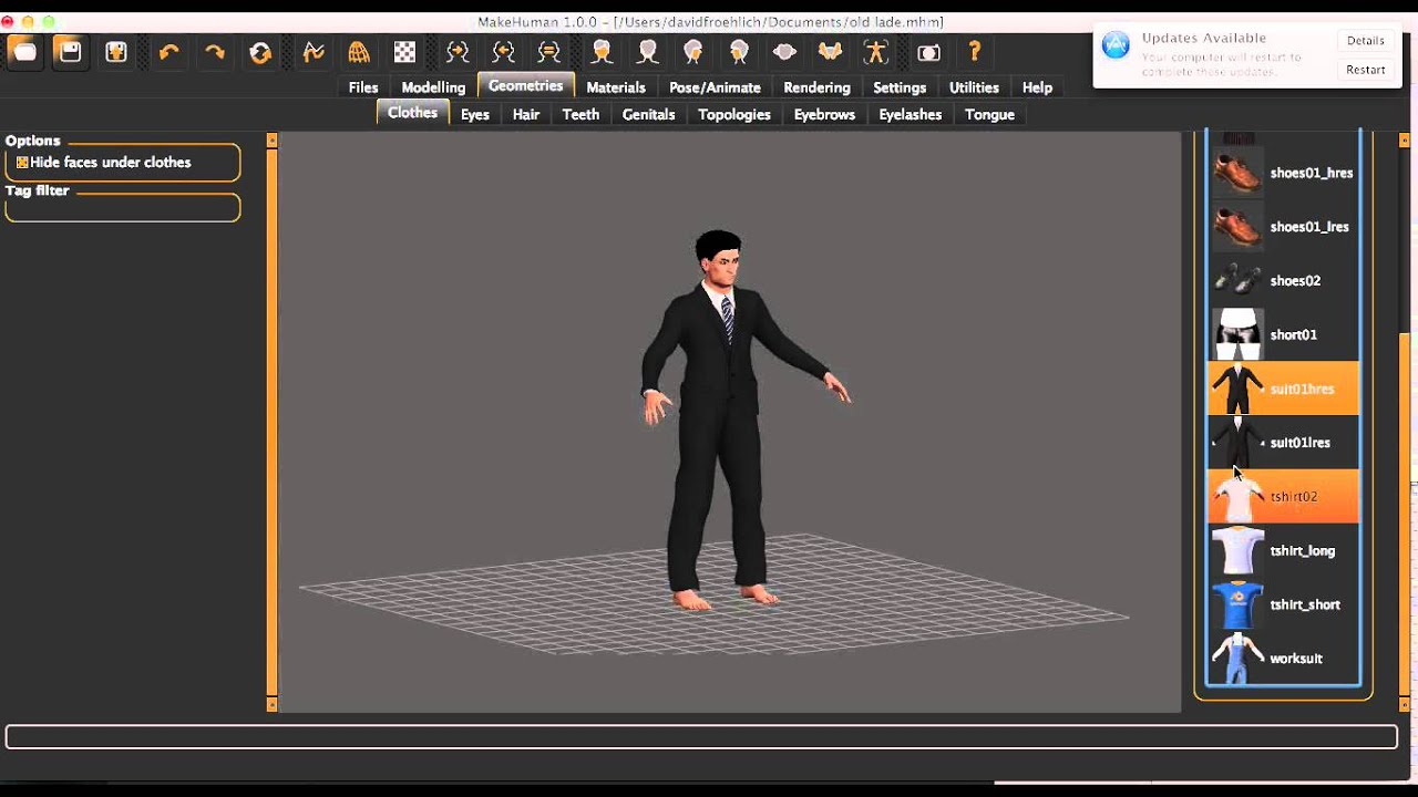 MakeHuman – Free and open-source 3D characters maker