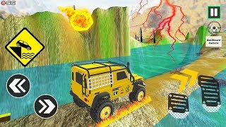 """Offroad Driving Simulator 4x4 Jeep Mudding """"Jeep Wrangler"""" Android Gameplay Video #2"""