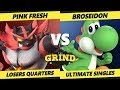 Smash Ultimate Tournament - Broseidon (Yoshi) Vs. VGBC | Pink Fresh (Incineroar) The Grind 55 SSBU